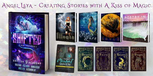 Angel Leya, a USA Today bestselling author creating clean young adult stories with (at least) a kiss of magic. | www.angeleya.com