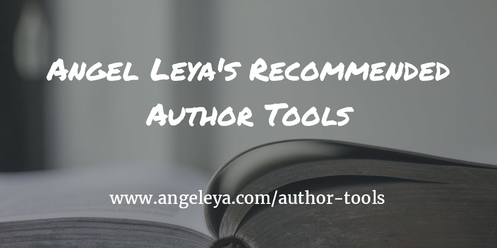 Angel Leya's recommended author tools | www.angeleya.com/author-tools