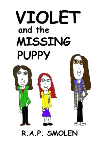 Book Review: Violet and the Missing Puppy by @roxannesmolen
