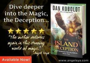 The Island Deception, Book 2 of Gateways to Alissia series by Dan Koboldt