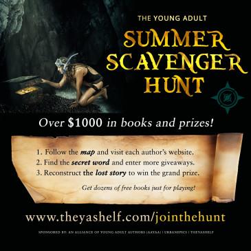 The YA Summer Scavenger Hunt by AAYAA