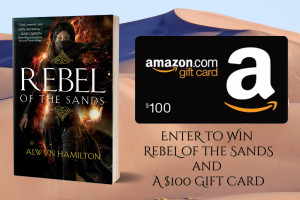 YA Book Giveaway Rebel of the Sands and a $100 Gift Card