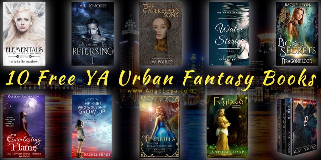 10 Free YA Urban Fantasy & YA Fantasy Books | www.AngeLeya.com