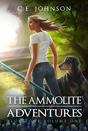 Review: Bluestone (Ammolite Adventures #1) by @Ammolite_CEJ