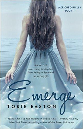 Book Review: Emerge by @TobieEaston #mermaid