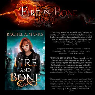 Book Blitz + #Giveaway: Fire and Bone by @RachelAnneMarks