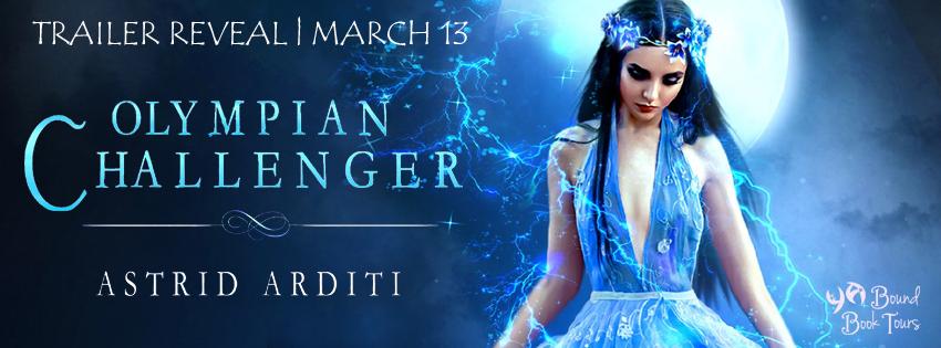 Trailer Reveal: Olympian Challenger by Astrid Arditi   Tour organized by YA Bound   www.angeleya.com