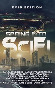 Book Review: Spring Into SciFi, anthology produced by Cloaked Press | www.angeleya.com