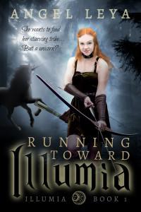 Running Toward Illumia, Illumia Book 1 by Angel Leya   books2read.com/Illumia1