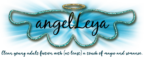 Angel Leya Signature Logo, an author creating clean young adult fiction with (at least) a touch of magic and romance. | www.angeleya.com