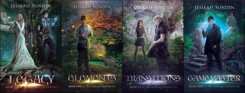 The Biodome Chronicles by Jesikah Sundin   www.angeleya.com #amreadingfantasy #ecopunk