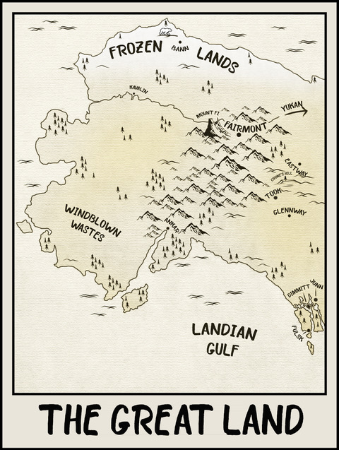 Map for Looking for Dei by David A. Willson | Tour organized by YA Bound | www.angeleya.com