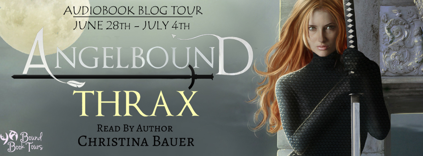 Blog Tour: Angelbound: Thrax by Christina Bauer | Tour organized by YA Bound | www.angeleya.com