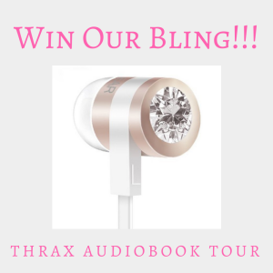 WIN OUR BLING, Thrax Audiobook Tour giveaway | www.angeleya.com