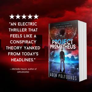 Review: Project Prometheus by Aden Polydoros | Tour organized by YA Bound | www.angeleya.com