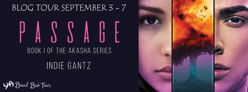Blog Tour: Passage by Indie Gantz | Tour organized by YA Bound | www.angeleya.com