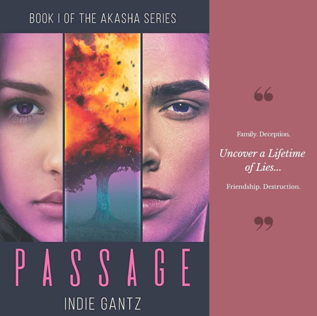 Quote: Passage by Indie Gantz | Tour organized by YA Bound | www.angeleya.com