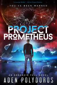 Project Prometheus by Aden Polydoros | Tour organized by YA Bound | www.angeleya.com
