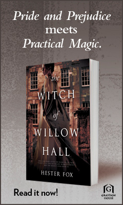 The Witch of Willow Hall by Hester Fox, Graydon House Books (Harlequin) | Tour organized by YA Bound | www.angeleya.com