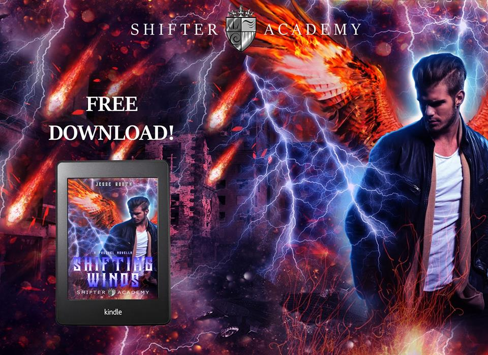Shifting Winds, a prequel novella to the exciting new Shifter Academy world! | www.theShifterAcademy.com