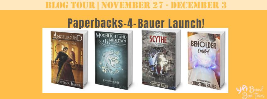 Blog Tour: Fall 4 Paperbacks by Christina Bauer | Tour organized by YA Bound | www.angeleya.com