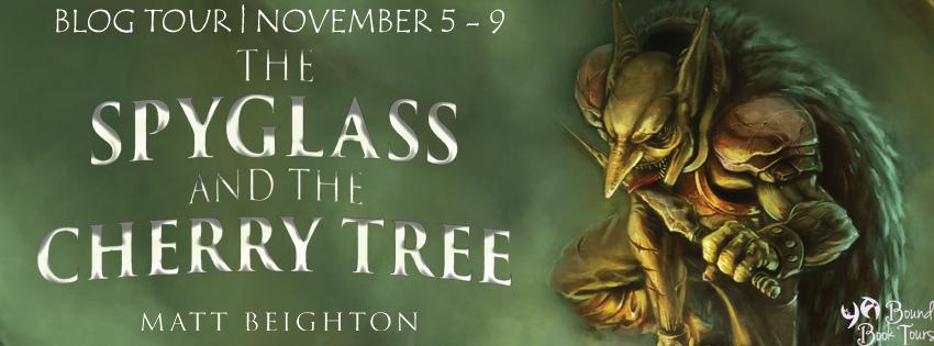 Blog Tour: The Spyglass and the Cherry Tree by Matt Beighton   Tour organized by YA Bound   www.angeleya.com