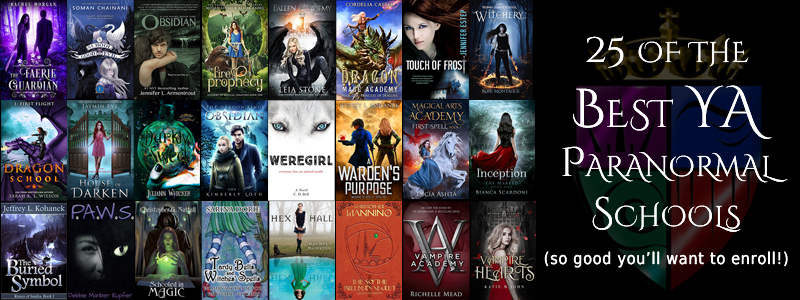 25 of the Best YA Paranormal School/Academy Books