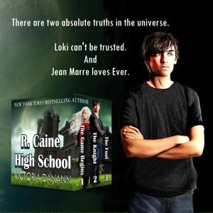 Quote 1: R. Caine High School by Victoria Danann | Tour organized by YA Bound | www.angeleya.com