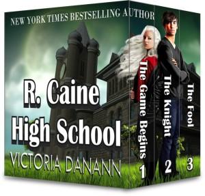 R. Caine High School by Victoria Danann | Tour organized by YA Bound | www.angeleya.com