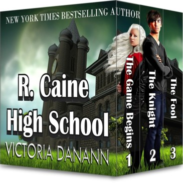 Book Blitz: R. Caine High School by @vdanann