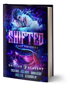 Shifted, Siren Prophecy #1, Shifter Academy by Angel Leya, Tricia Barr, Jesse Booth, Alessandra Jay, and Joanna Reeder | www.angeleya.com