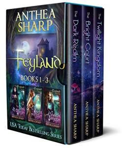 Feyland Boxset by Anthea Sharp | 5 Star Book Review | www.angeleya.com
