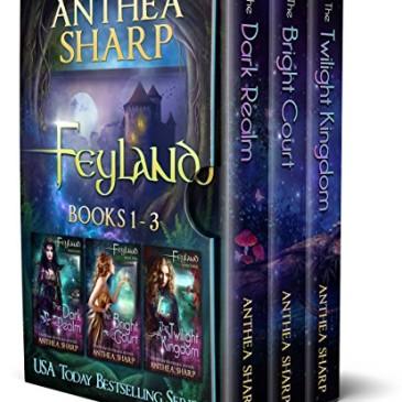 Book Review: Feyland by @AntheaSharp