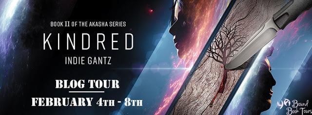 Blog Tour: Kindred by Indie Gantz   Tour organized by YA Bound   www.angeleya.com