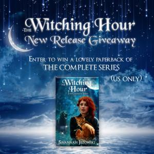 Giveaway: The Witching Hour by Savannah Jezowski | www.angeleya.com