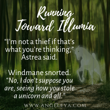 Sneak Peek: Running From Illumia