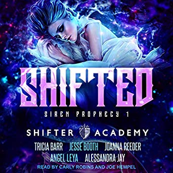 Shifted now on #audible!