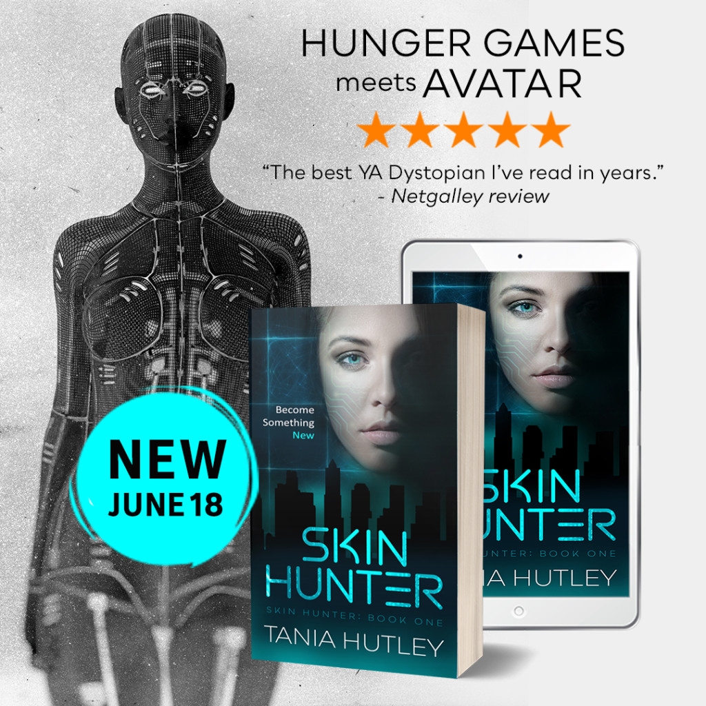 Promo 1: Skin Hunter by Tania Hutley | Tour organized by Xpresso Book Tours | www.angeleya.com