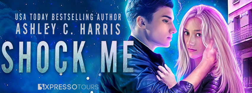 Cover Reveal: Shock Me by Ashley C. Harris   Tour organized by XPresso Book Tours   www.angeleya.com