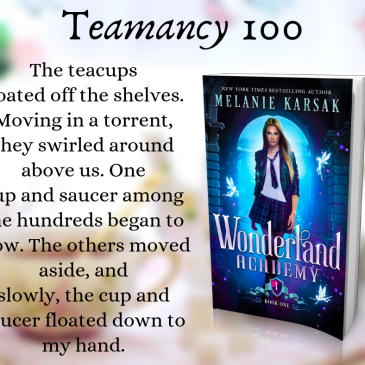 Blitz: Wonderland Academy: Year One by @melaniekarsak