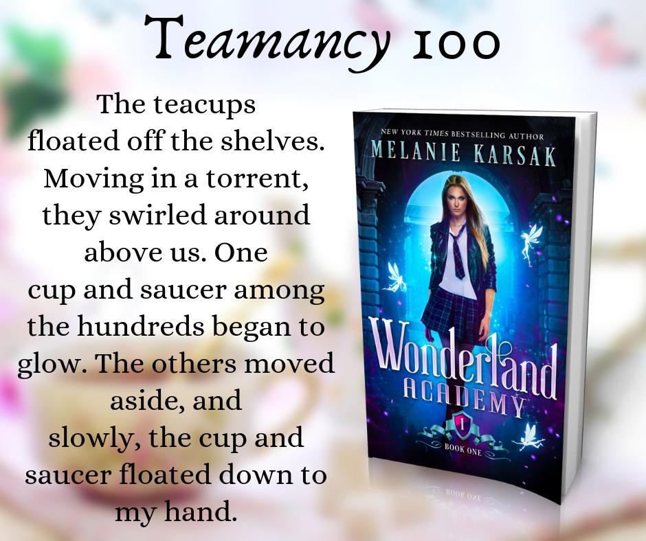 Quote 1: Wonderland Academy: Year One by Melanie Karsak | Tour organized by XPresso Book Tours | www.angeleya.com