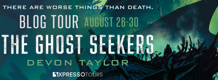 Blog Tour: The Ghost Seekers by Devon Taylor | Tour organized by XPresso Book Tours | www.angeleya.com