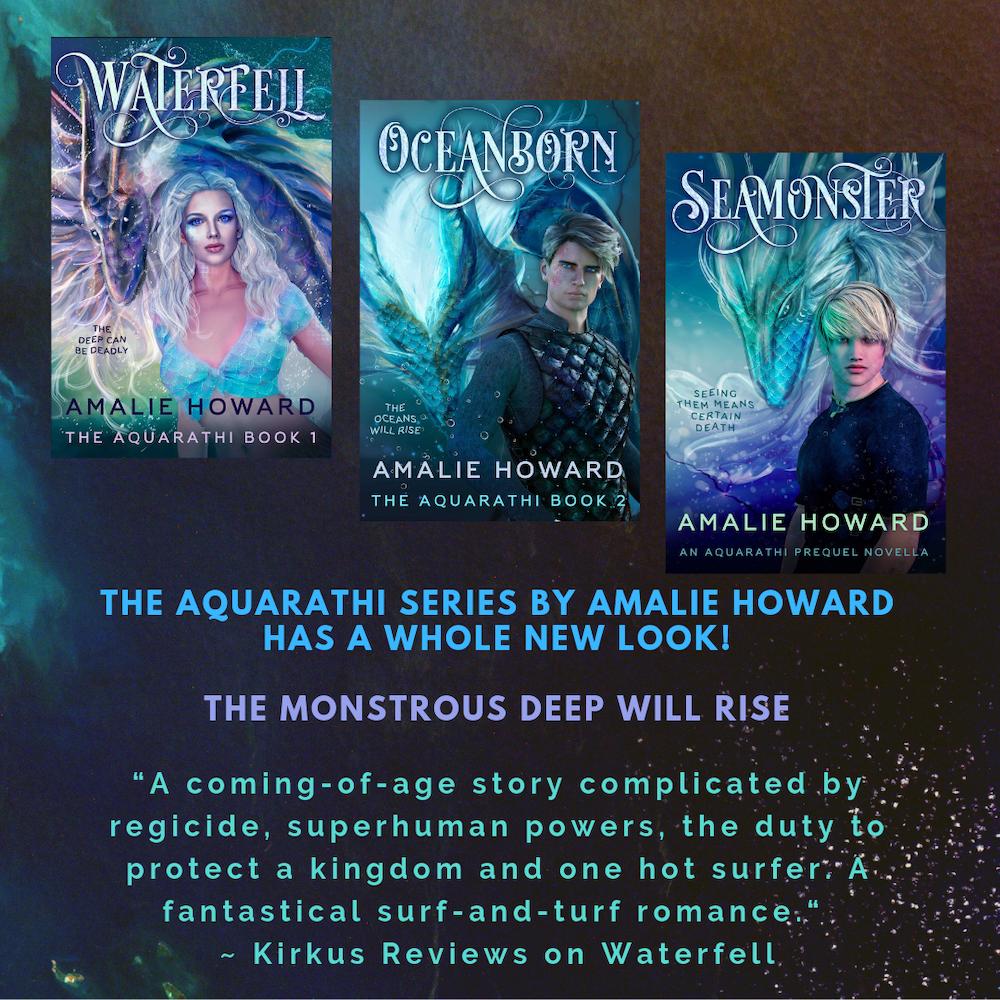 Aquarathi Series by Amalie Howard   Tour organized by XPresso Book Tours   www.angeleya.com