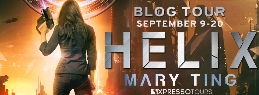 Book Tour: Helix by Mary Ting   Tour organized by XPresso Book Tours   www.angleya.com
