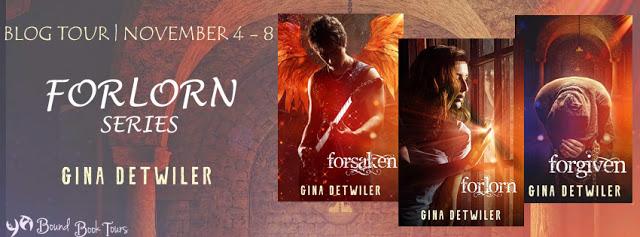 Book Tour: Forlorn by Gina Detwiler | Tour organized by YA Bound | www.angeleya.com