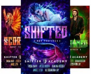 Shifter Academy: Siren Prophecy series by Tricia Barr, Angel Leya, Joanna Reeder, Jesse Booth, and Alessandra Jay