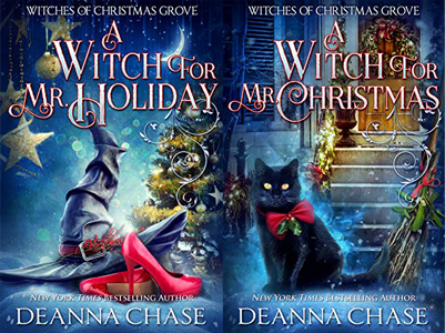 Witches of Christmas Grove by Deanna Chase | www.angeleya.com